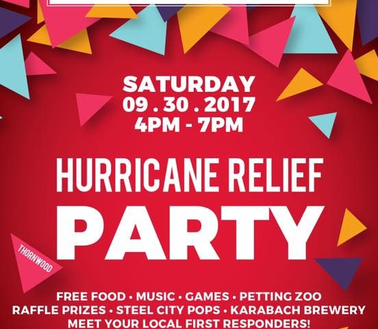 Hurricane Relief Party